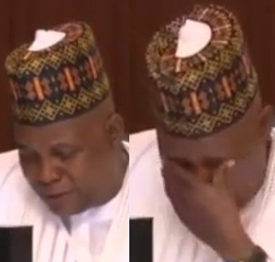 Governor Shettima weeps at meeting with Buhari over Boko Haram resurgence (video)