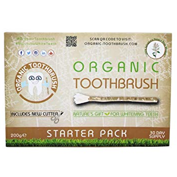 "Chewing stick rebranded and sold abroad as ""organic toothbrush"" for $15"