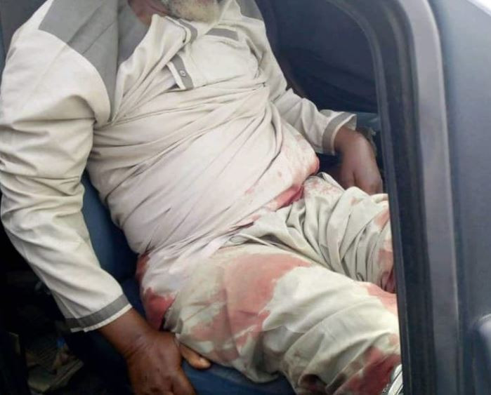 Photo:?Bribe seeking police officer shoots two drivers in Kogi State
