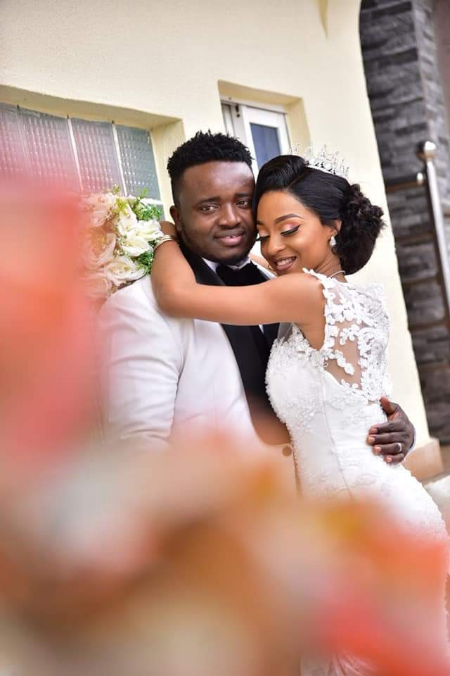 """A relationship that started at a motor park has been sealed""- Nigerian couple weds 7 years after they met at a motor park"