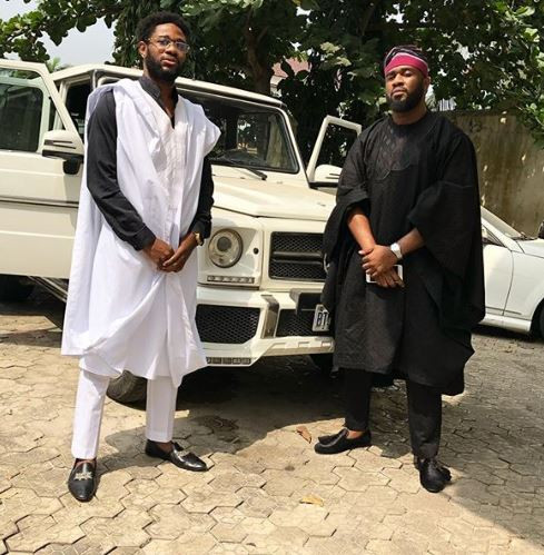 First photos from Adekunle Gold and Simi