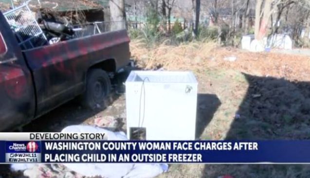 Mum charged with child abuse after abandoning her 8-month-old baby in a freezer
