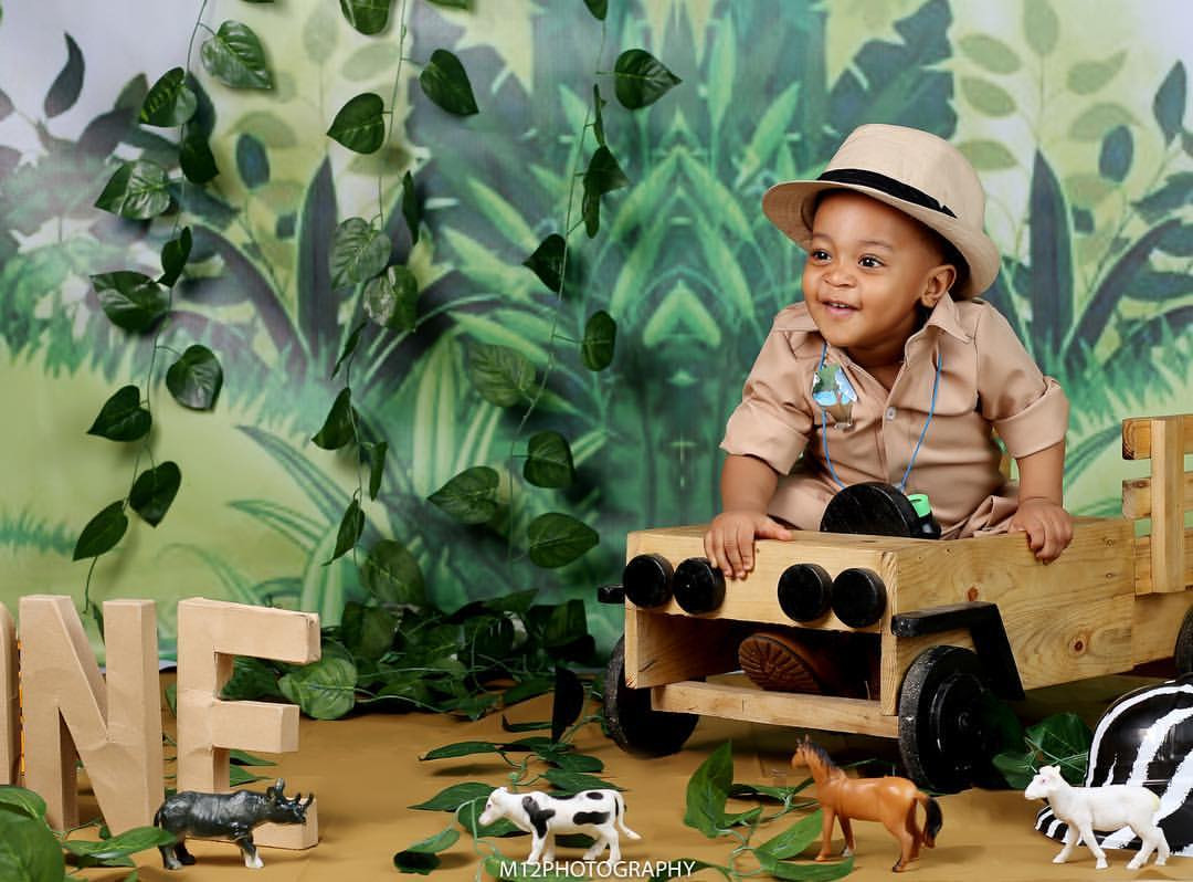 Ex-beauty queen, Powede Awujo shares lovely photos of her son, Tobe, who turns one today