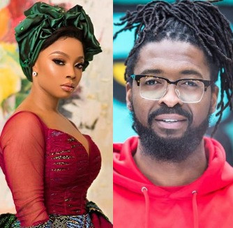 Between Toke Makinwa, Basketmouth and the comedian