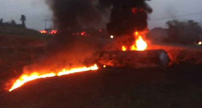 Many feared dead as tanker explodes in Cross River