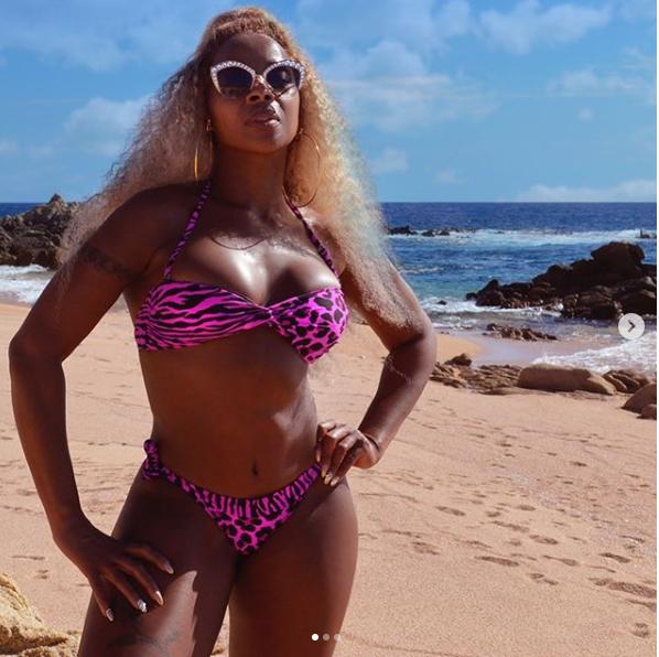 Mary J. Blige releases stunning bikini photos as she clocks 48