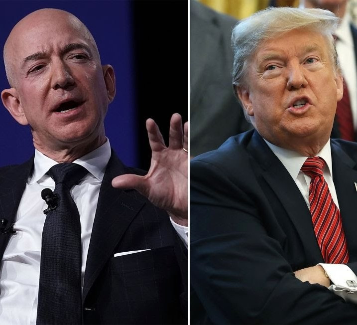 Trump Slams Jeff Bezos Over Divorce From Wife, Mackenzie And Rumoured Affair With Sanchez