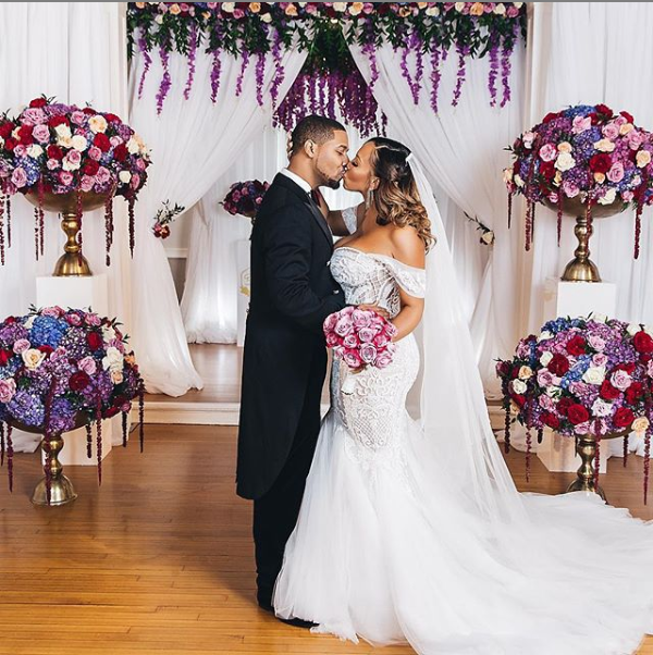 Newly married couple Juelz Santana and Kimbella share beautiful wedding photos