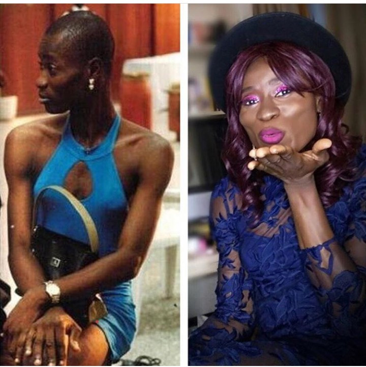 2e798bc20d Bisi Alimi joins the 10 years challenge and his photos have got people  talking