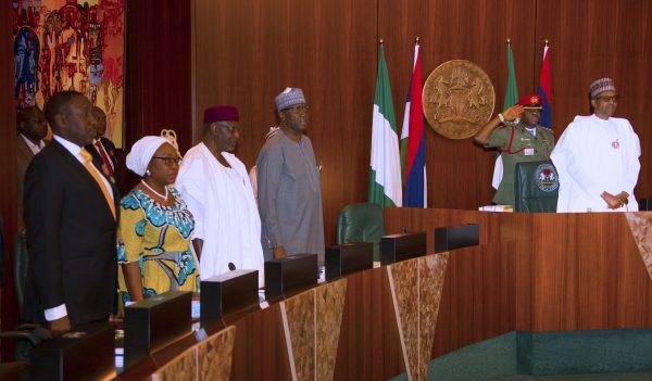 Buhari, ministers hold emergency FEC meeting