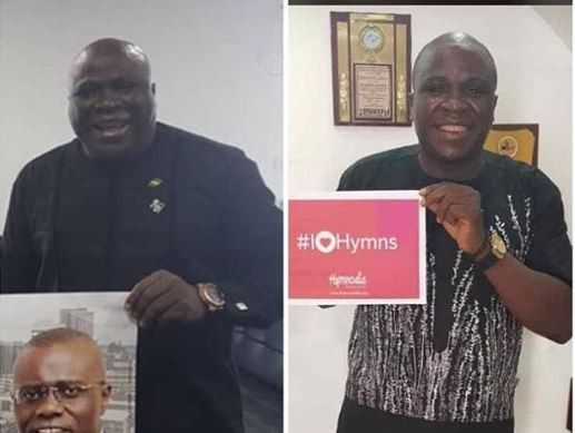 Gbenga Adeyinka, Nigerian comedian shares amazing weight loss photo