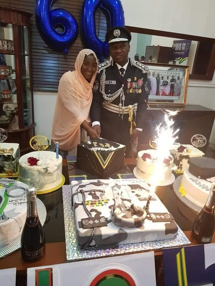 Photos: IGP Ibrahim Idris celebrates his 60th birthday with his family and staff