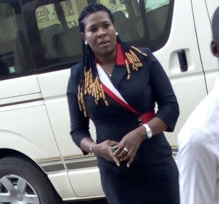 Photo: Blessing Arowojobe remanded in EFCC custody?for N7m fraud