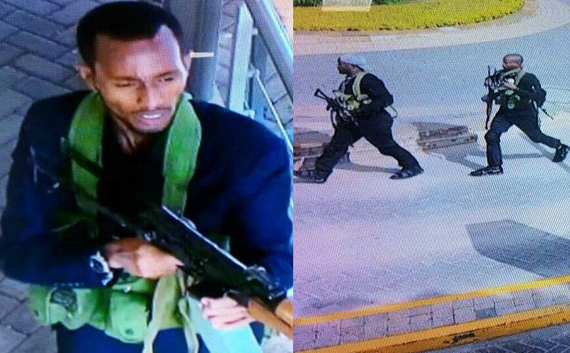 Update: 15 people confirmed dead in Islamist attack on Kenyan hotel as CCTV captures the terrorist gunmen shooting as they arrived (Video)