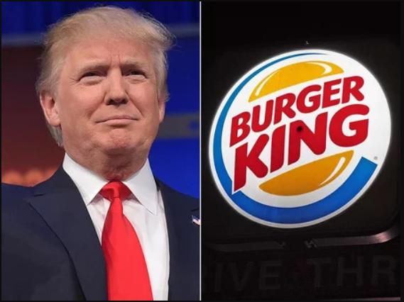 Burger King shades Donald Trump for misspelling