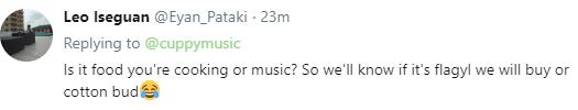 DJ Cuppy tweets