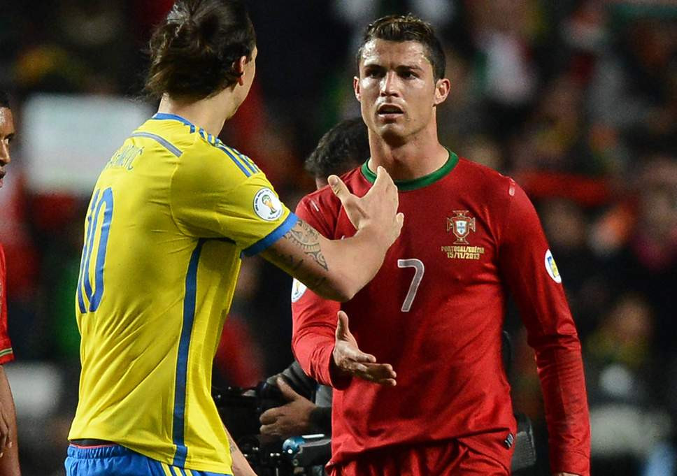 Zlatan Ibrahimovic takes a swipe at Cristiano Ronaldo over his move to Juventus?