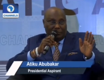 I am committed to privatising NNPC, even if they kill me- PDP presidential candidate Atiku Abubakar says