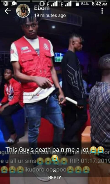 2 students of Rufus Giwa Polytechnic die in accident while returning from a nightclub (graphic photos)