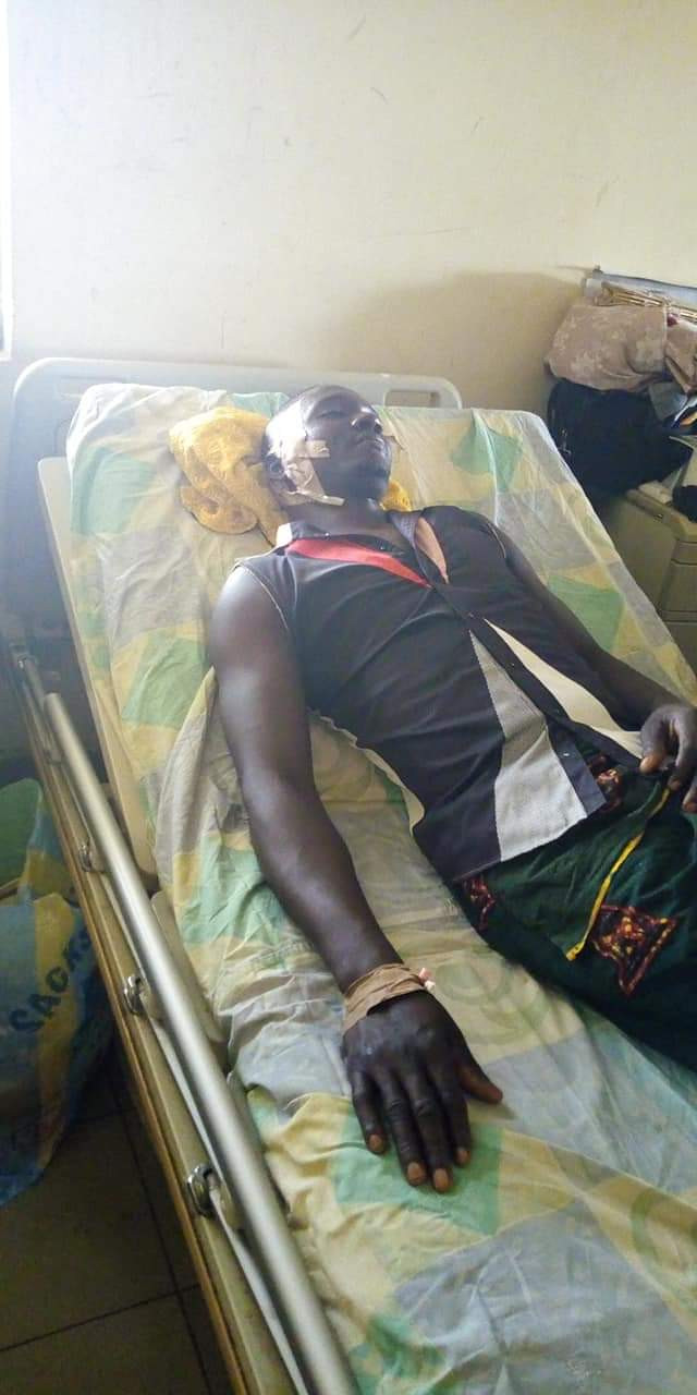 Photos: Young man shot by suspected cultists in Benue