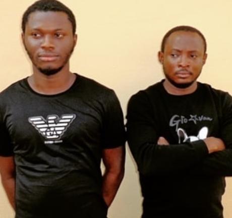 Photo: Suspected internet fraudsters arraigned in Enugu