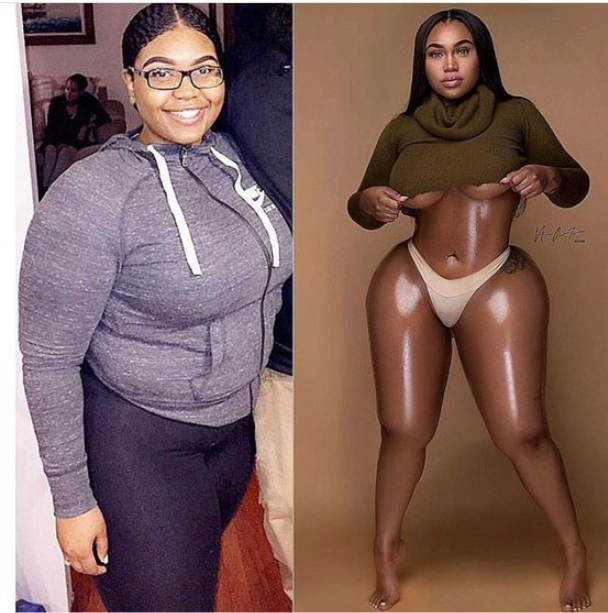 This lady's 10 year challenge has got people talking