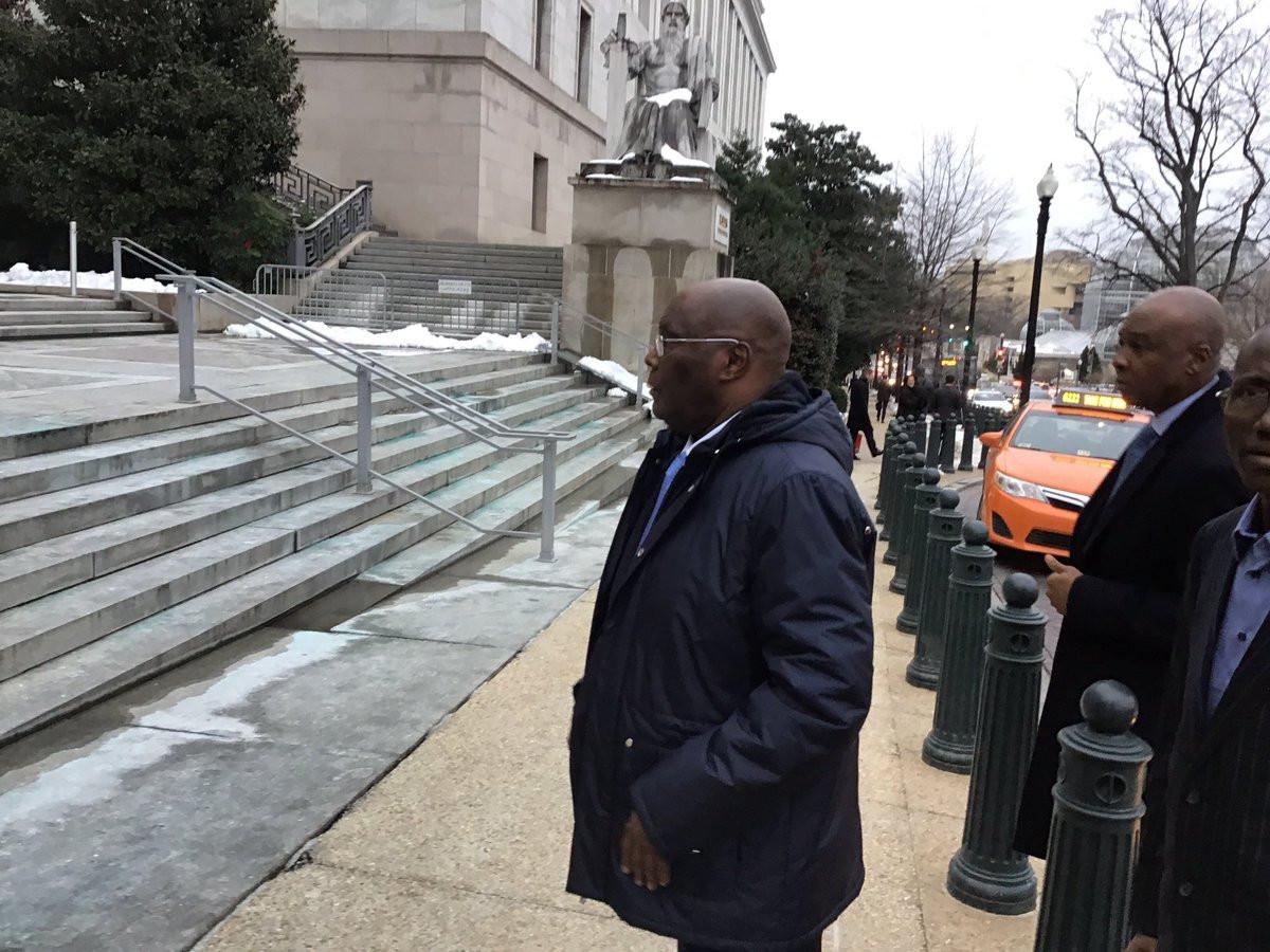 Photos: Atiku Abubakar visits US Congressman Smith