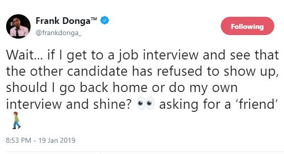 #2019Debate: Frank Donga asks a very important question on Atiku