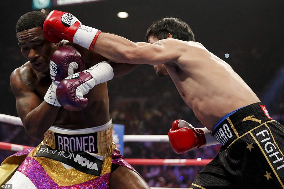 Manny Pacquiao defeats Adrien Broner with dominating unanimous decision to retain his WBA