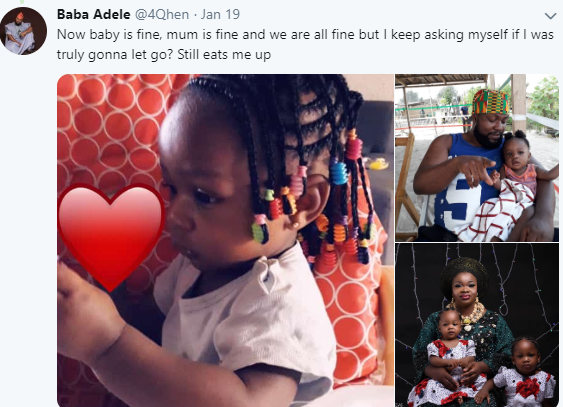 Father of two shares tear-jerking story of how he almost committed suicide on 3rd mainland bridge days after welcoming his 2nd daughter
