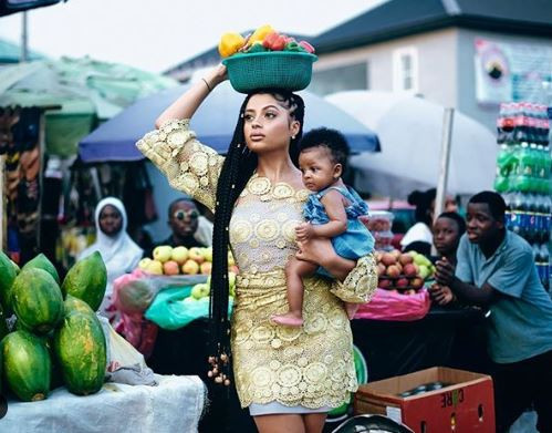 Lola Rae shares photos of her baby with Tekno