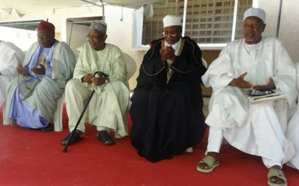 Photos from the funeral of Ambassador Gaji Galtimari who died Maiduguri at the age of 81