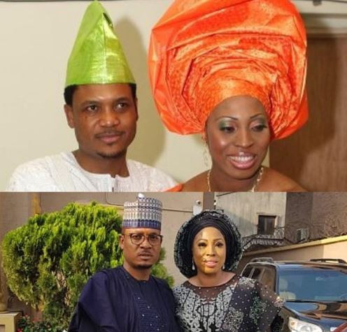Shina Peller shares lovely 10YearChallenge photos with his wife