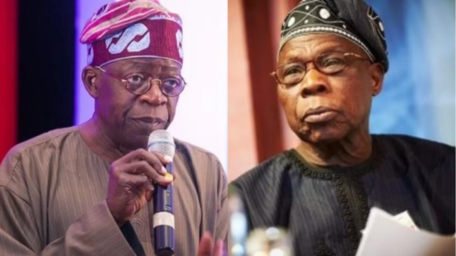 Obansanjo is an expired politician- Bola Tinubu
