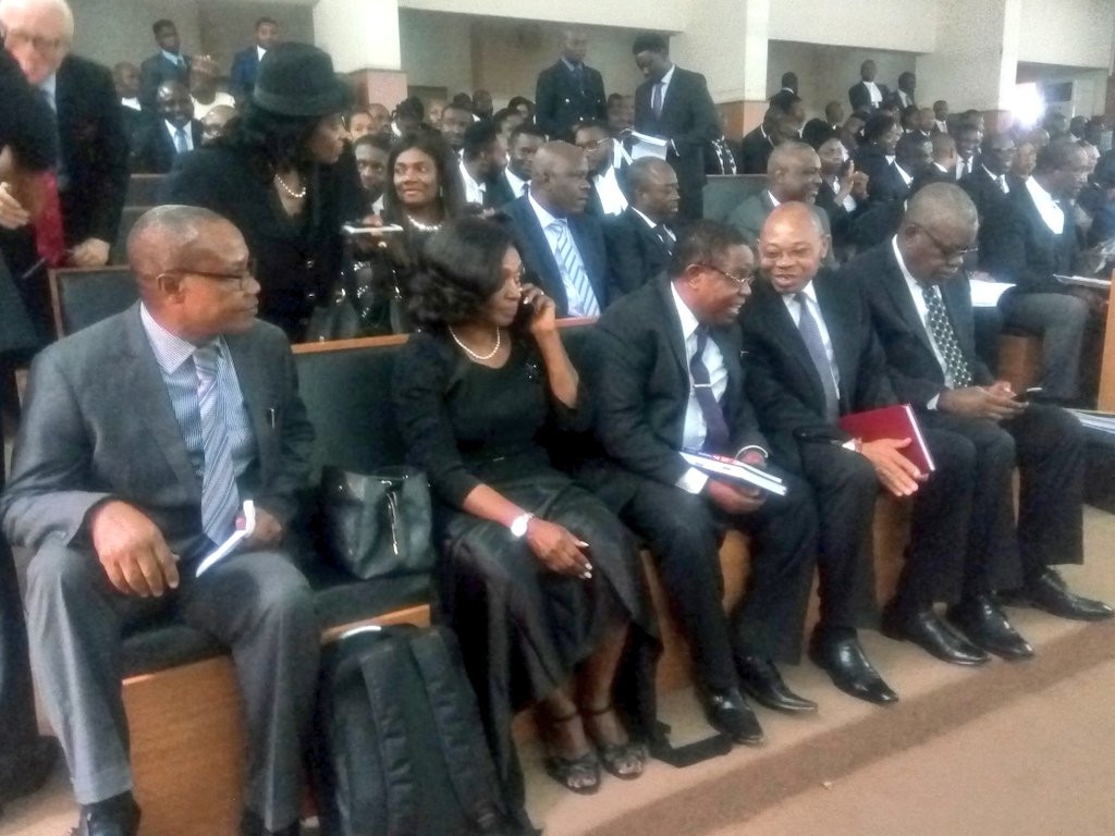 Photos: CJN Walter Onnoghen absent as CCT trial resumes