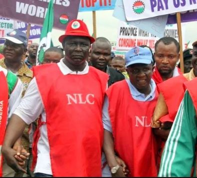 Image result for Nigeria Labour Congress swiftly rejects the N27,000 minimum wages adopted by the national council of state