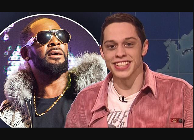 Pete Davidson calls out R. Kelly during comedy show in New York,?says the singer