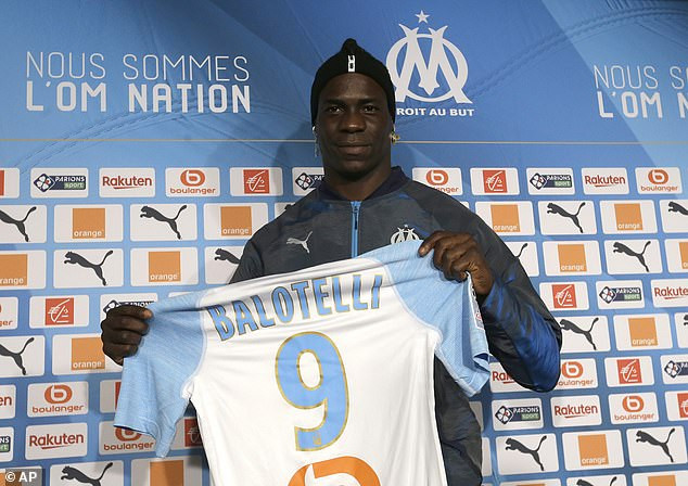 Finally! Controversial footballer Mario Balotelli gets a new club, (Photos)