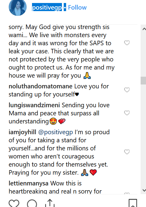 Sociam media users react after South African activist and radio personality Criselda Dudumashe accused her husband of domestic violence