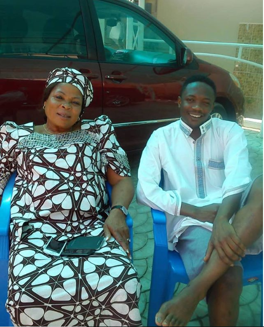 Nigerian footballer, Ahmed Musa loses his mum?