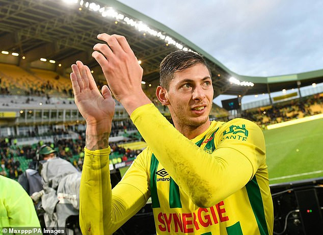 Nantes plead for search for missing striker Emiliano Sala to be restarted after his disappearance?on plane crossing English channel to Cardiff
