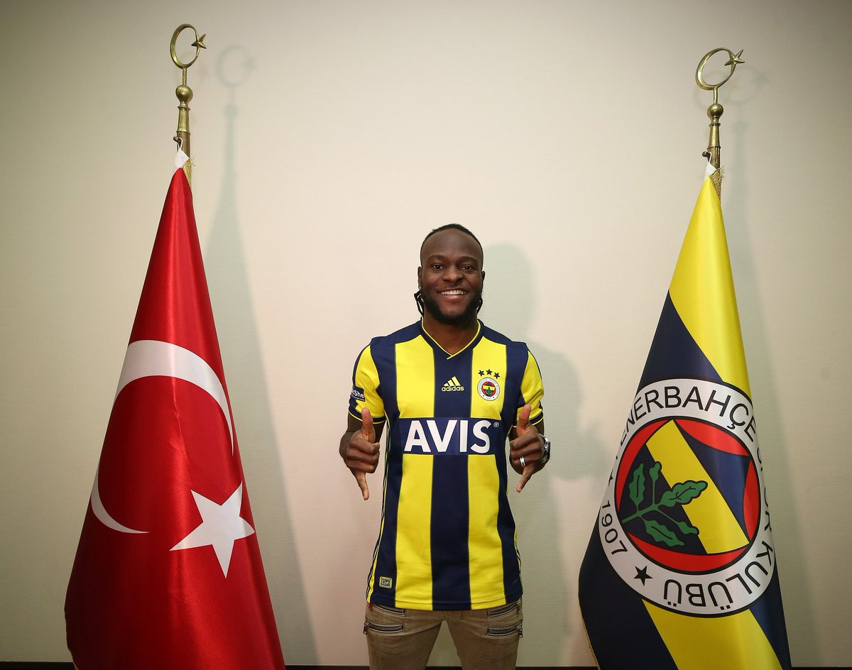 Victor Moses joins Fenerbahce on loan until the end of season (Photos)
