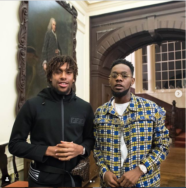 Patoranking shares new photo with Alex Iwobi