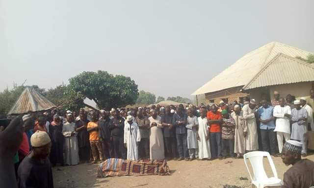 Photos: Gunmen kill APC ward Chairman in Gwagwalada, Abuja, kidnap his 15-year-old daughter