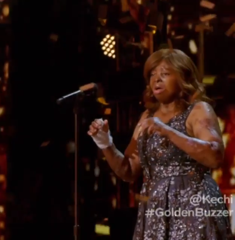 Emotional moment Nigerian plane crash survivor Kechi Okwuchi