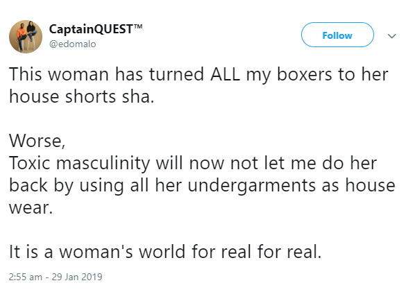 5c51a9bf5b397 - It is a woman's world for real – Ibrahim Suleiman