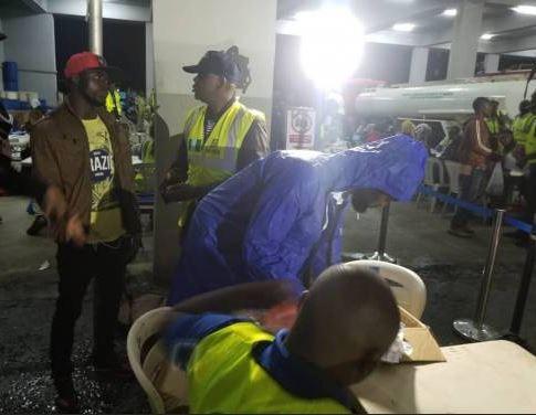 (Photos): Fresh set of 162 Nigerians?Including four pregnant women return from Libya