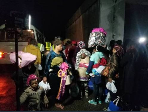 (Photos): Fresh set of 162 Nigerians?Including four pregnant women return from Libya
