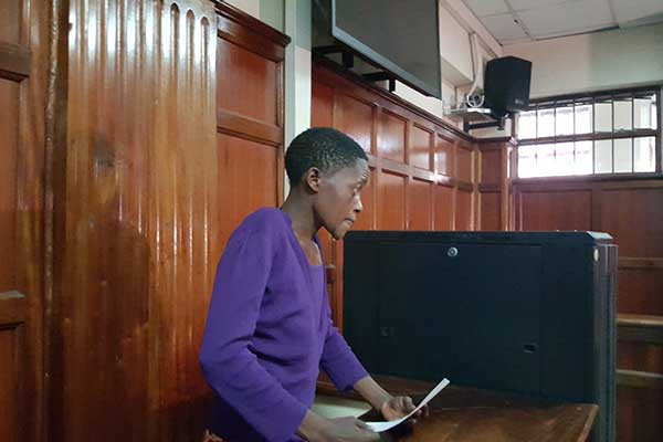 23 year old woman charged with defiling a 15-year-old boy in police cell