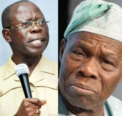 Nigerians will never forgive Obasanjo for ceding part of Cross River State to Cameroon ? Adams Oshiomhole